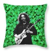 Jerry Clover 1 Throw Pillow