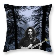 Jerry Cold Rain And Snow Throw Pillow
