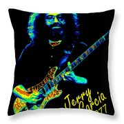 J G 1977 Throw Pillow