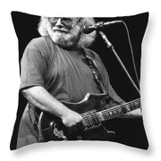 Jerry Garcia Band Throw Pillow