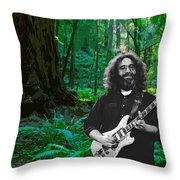J G In Muir Woods Throw Pillow