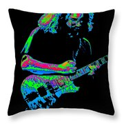 Jerry In Cheney On A Cosmic Day In 1978 Throw Pillow