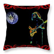 Jerry In Space Throw Pillow