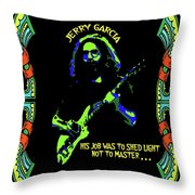 Jerry Shedding Light Throw Pillow