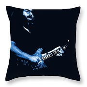 Jerry Sings The Blues 1978 Throw Pillow