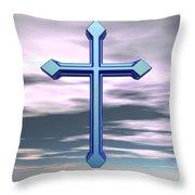 Jerrys Cross  Throw Pillow