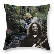 Jerry's Mountain Music 13 Throw Pillow