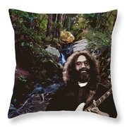 Jerry's Mountain Music 9 Throw Pillow