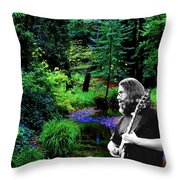Jerry's Sunshine Daydream Throw Pillow