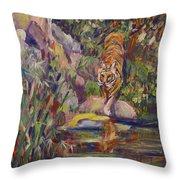 Jerrys Tiger Throw Pillow