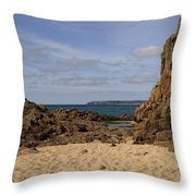 Jersey Beach  Throw Pillow
