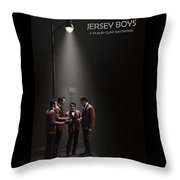 Jersey Boys By Clint Eastwood Throw Pillow