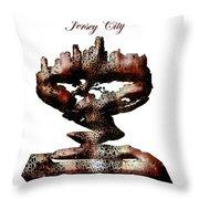 Jersey City  Throw Pillow
