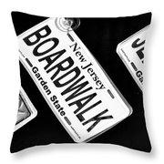 Jersey Shore Essentials Throw Pillow