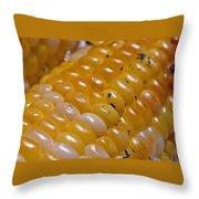 Jersey Sweet Corn Throw Pillow