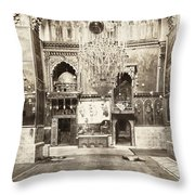Jerusalem Armenian Church Throw Pillow
