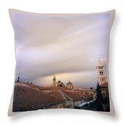 Ethereal Jerusalem Throw Pillow