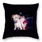 Jess And Idgy Throw Pillow