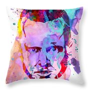 Jesse Breaking Bad Watercolor Throw Pillow