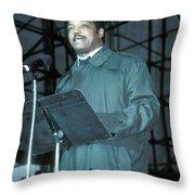 Jesse Jackson Throw Pillow