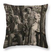 Jessie Tarbox Beals(1870-1942) Throw Pillow