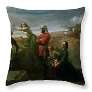 Jessies Dream , 1858 Throw Pillow