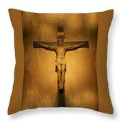 Jesus 2  Throw Pillow
