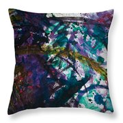 Jesus And Mary And The Transmutation Of The Planet Earth Throw Pillow
