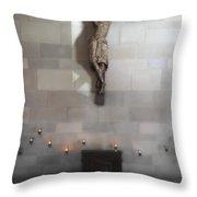 Jesus Chapel Icon - San Francisco Throw Pillow