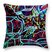 Jesus Christ - King Of Peace Throw Pillow by Gloria Ssali