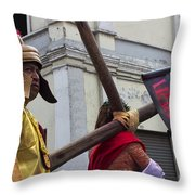 Jesus Died For Us Vi Throw Pillow
