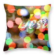 Jesus Is The Reason For The Season Throw Pillow