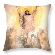 Jesus Loves You 2 Throw Pillow