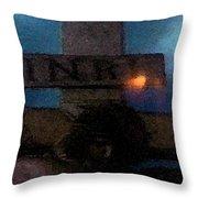 Jesus On The Cross Fresco  Throw Pillow