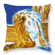 Jesus Paid It All Throw Pillow