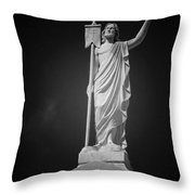 Jesus St Louis Cemetery No 3 New Orleans Throw Pillow