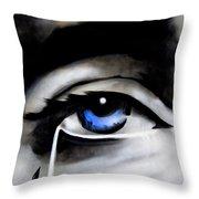 Tear Drop Throw Pillow