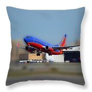 Jet Chicago Airplanes 17 Throw Pillow
