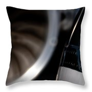 Jet Power Throw Pillow
