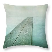 Jetty Throw Pillow by Priska Wettstein