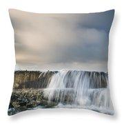 Jetty Spillover Waterfall Throw Pillow