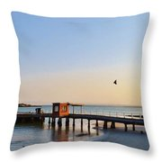 Jetty.... Throw Pillow