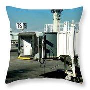 Jetway Throw Pillow