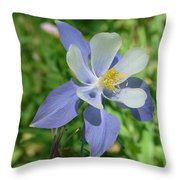 Jewel In The Glade  Throw Pillow