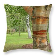 Jewel In The Woods Throw Pillow