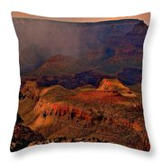 Jewel Of The Grand Canyon Throw Pillow