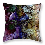 Jewel Tones Throw Pillow