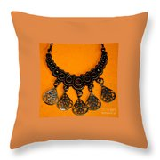 Jewelry Photography 1 Throw Pillow