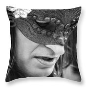 Jewels Fought  Throw Pillow