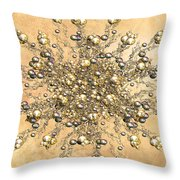 Jewels In The Sand Throw Pillow